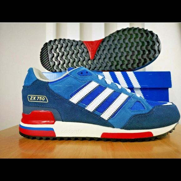the best attitude 5b6fa 96450 Adidas Zx750 Bluebird Sneakers